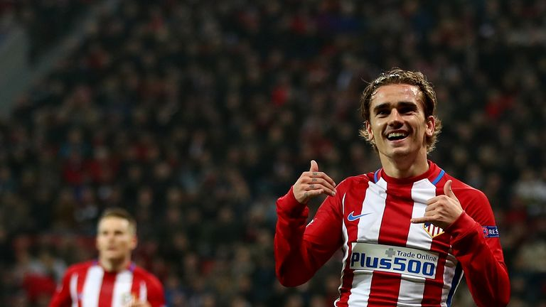 Antoine Griezmann was linked with Manchester United