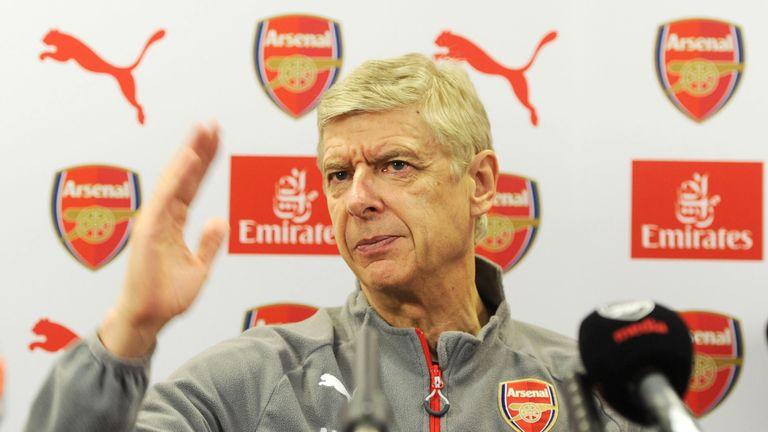 Arsenal manager Arsene Wenger is an admirer of the striker