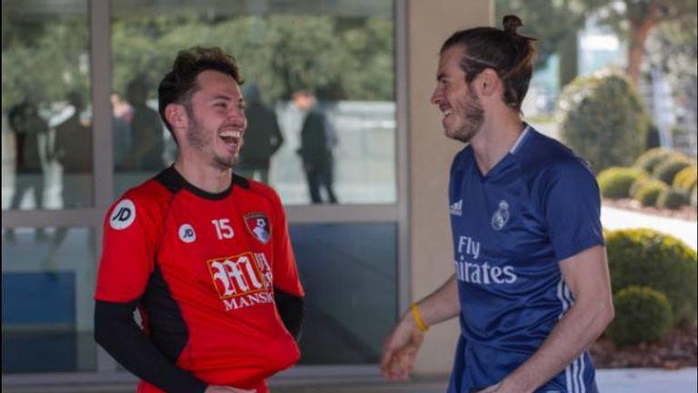 Picture of Adam Smith Friend, called Gareth Bale