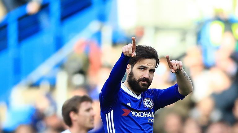 Cesc Fabregas has provided 11 assists despite only starting 11 games