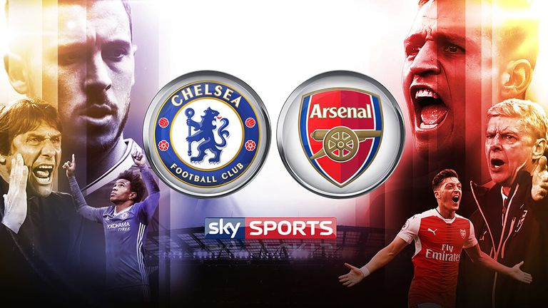 Watch Chelsea v Arsenal live on Sky Sports 1HD from 11.30am on Saturday