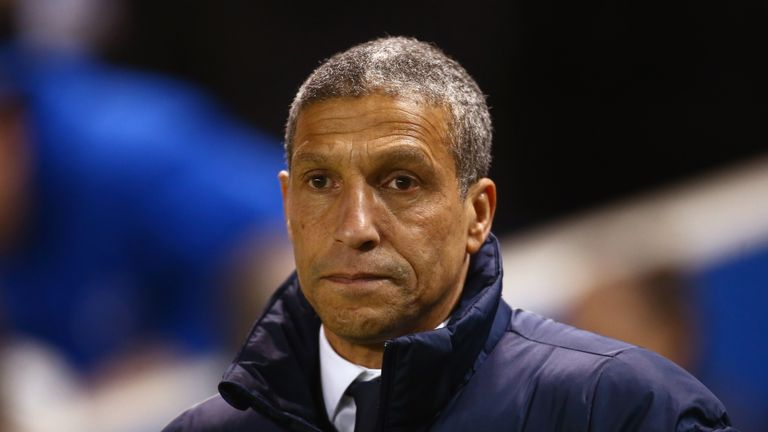 Chris Hughton's side created few chances during their visit to Elland Road