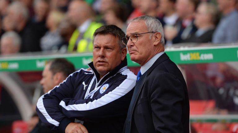 Shakespeare as No 2 to Claudio Ranieri in Leicester's title-winning season