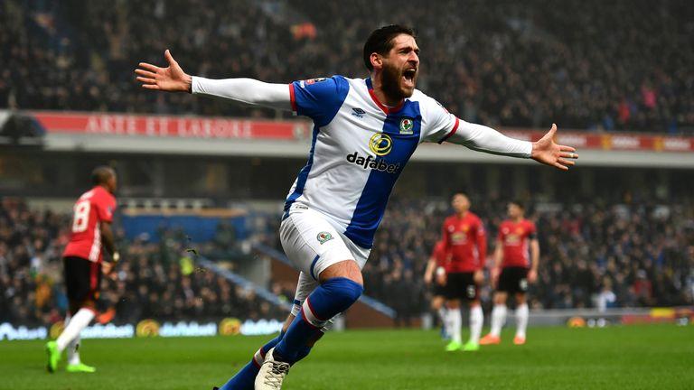 Danny Graham's goal had put Blackburn in front