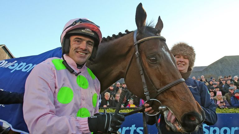 Douvan returns from a 12-month absence under Ruby Walsh