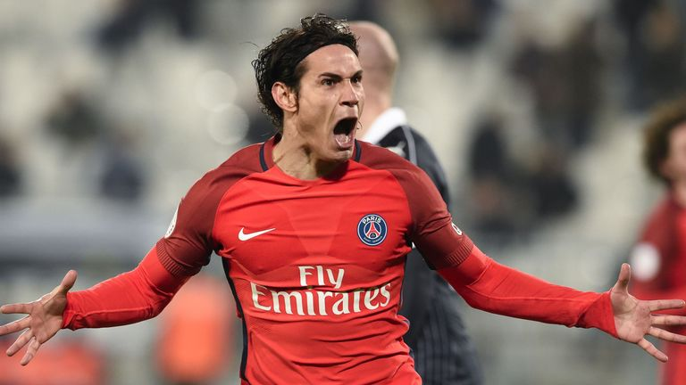 Ibrahimovic's former PSG team-mate Edinson Cavani has hit 26 league goals so far but not recorded an assist