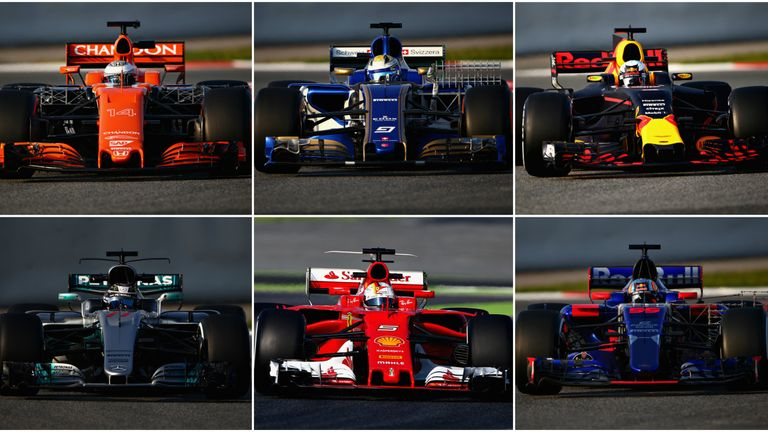 F1 2017 Cars >> F1 2017 What Is The Grid S Best Looking New Car Have Your Say