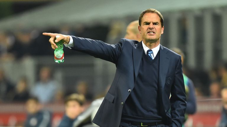 Frank de Boer has been linked with a return to Rangers as manager