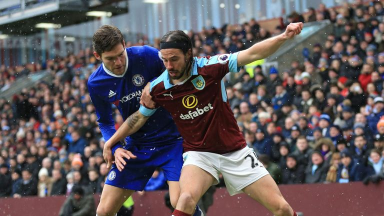 George Boyd is in talks over a new Burnley deal
