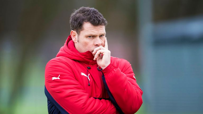 Rangers interim manager Graeme Murty has said he would be 'daunted' by the prospect of being in charge against Celtic