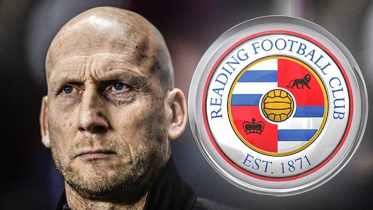 Reading play possession-based football under former defender Jaap Stam