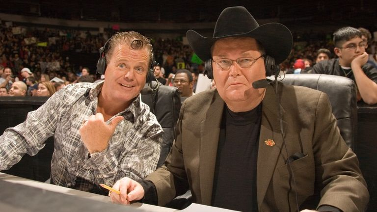 Lawler and Jim Ross forged a long-standing broadcast duo