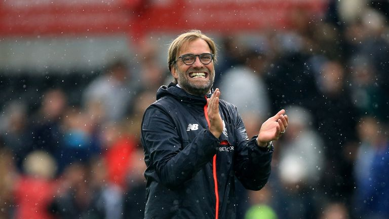 Liverpool manager Jurgen Klopp is not on the Barcelona managerial shortlist