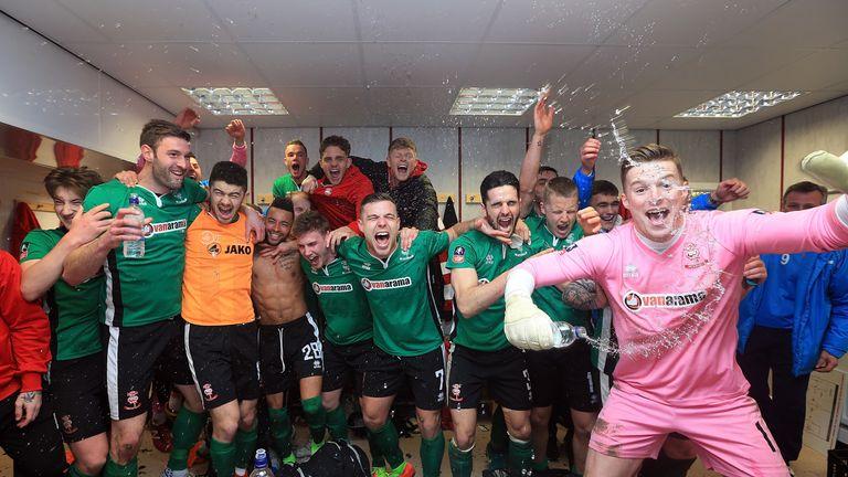 6c91cfa2d Lincoln City dumped out Premier League Burnley to reach the quarter-finals