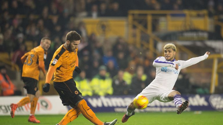 Newcastle stopped Wolves from creating any clear-cut chances