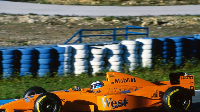 mclaren liveries down the years: a history of colours as orange