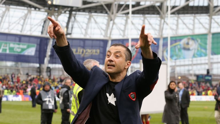 Toulon owner Mourad Boudjellal is volatile if entertaining