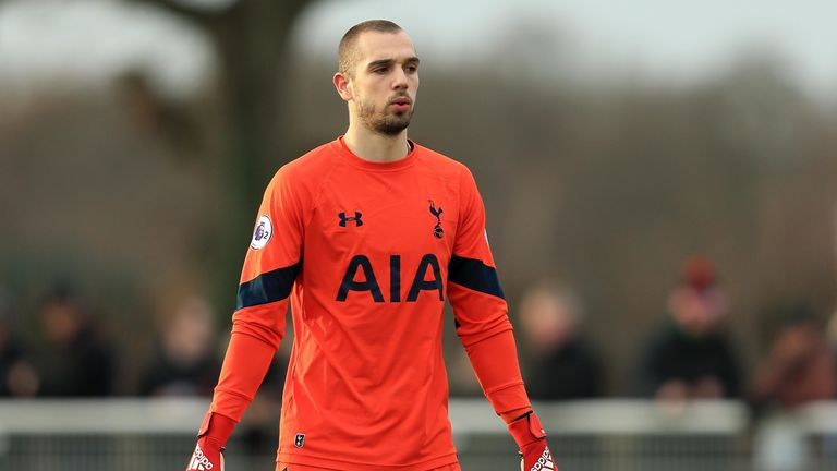 Pau Lopez joined Tottenham on loan in the summer