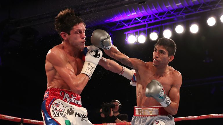 WBC king Rey Vargas saw off Britain's Gavin McDonnell last year and is one of Dogboe's primary targets