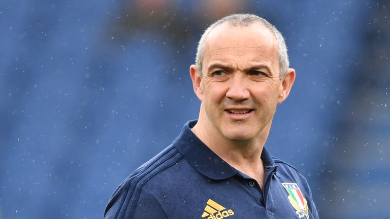 Conor O'Shea moved into his role in Italy back in 2016