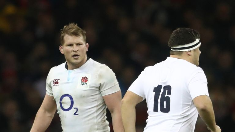 George replaced Hartley in each Six Nations game before the 55th minute