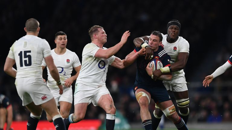 Louis Picamoles was France's best performer at Twickenham