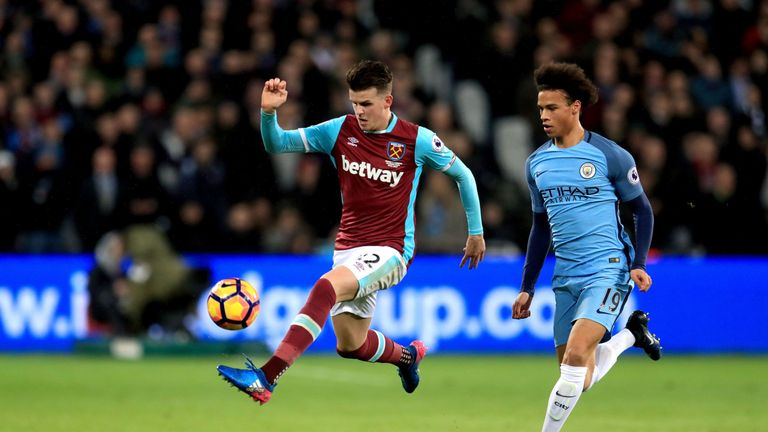 Sam Byram could start at right-back for West Ham against Leicester this weekend