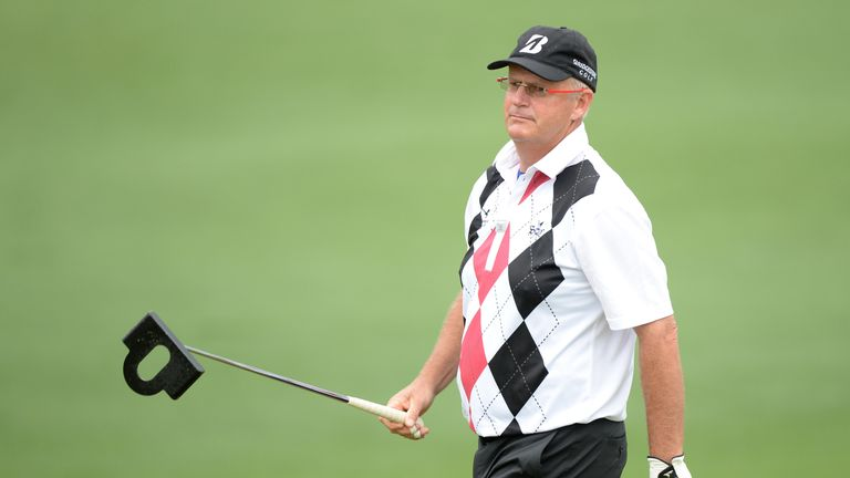 Sandy Lyle's putter at the 2013 Masters was nicknamed 'brick on a stick'