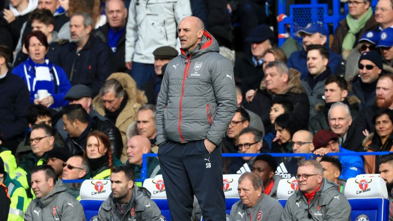 Steve Bould will drop down to coach Arsenal's Under-23s