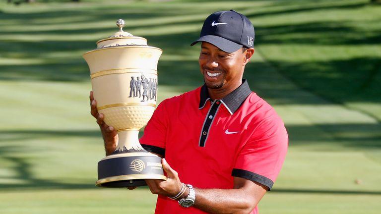 Woods has not won since lifting the WGC-Bridgestone Invitational title in August 2013
