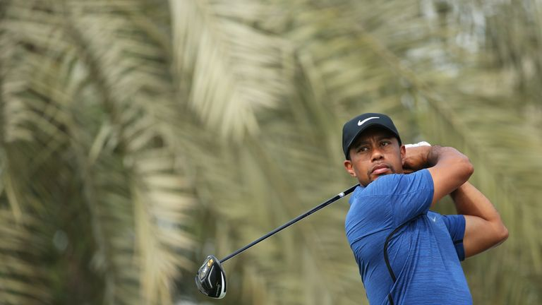Woods missed the cut at January's Farmers Insurance Open