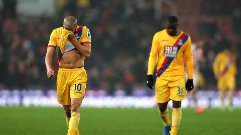 Crystal Palace have won just one of their past 11 Premier League matches