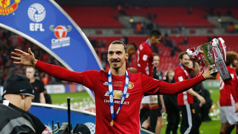 Zlatan Ibrahimovic was Manchester United's match-winner in the EFL Cup final victory over Southampton