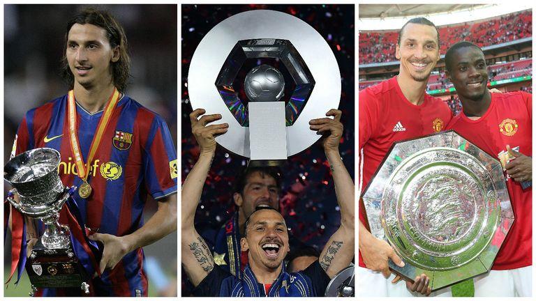 Zlatan Ibrahimovic is no stranger to trophy triumphs