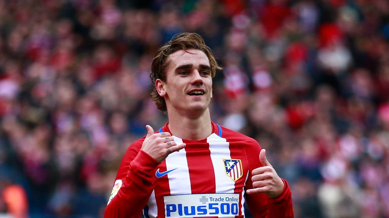 Antoine Griezmann had previously said he was 'ready to go' from Atletico Madrid
