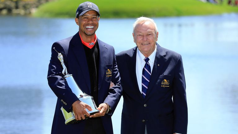 Woods won his eighth Arnold Palmer Invitational title in 2013