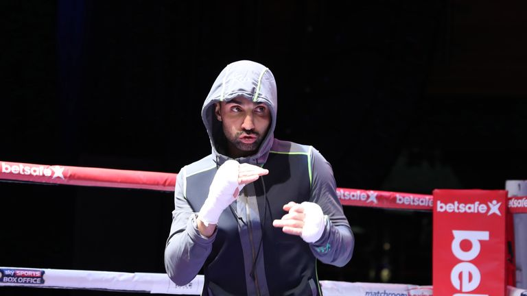 Malignaggi is a former two-weight world champion