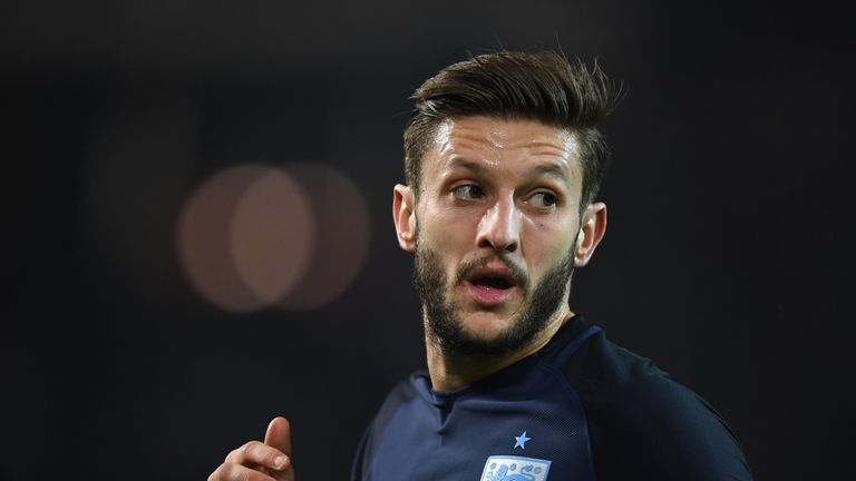 Adam Lallana impressed in England's narrow defeat to Germany