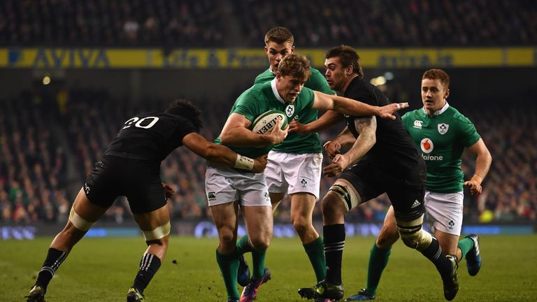 Andrew Trimble (pictured) and Ultan Dillane will miss the rest of Ireland's Six Nations through injury