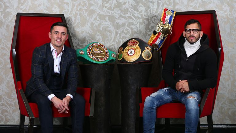 The Ring Magazine title will be on the line when Anthony Crolla fights Jorge Linares on Saturday