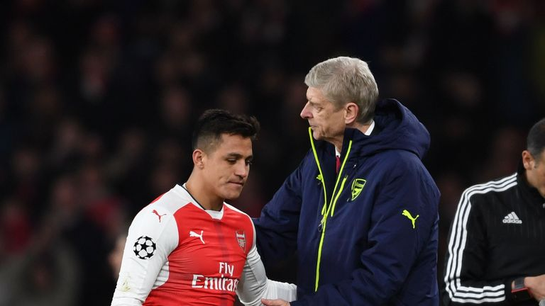 There are doubts about the Arsenal futures of both Sanchez and Wenger