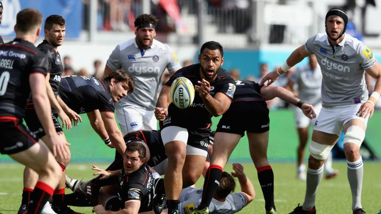 Billy Vunipola returned from England duty for Saracens