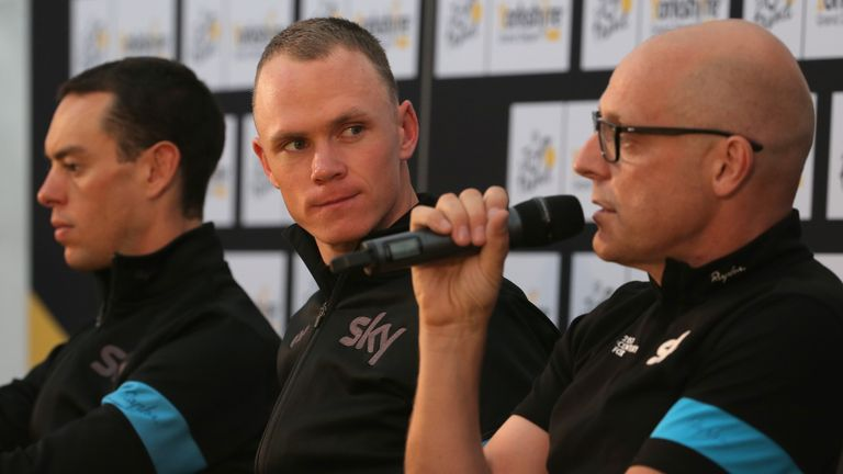 Sir Dave Brailsford believes his lead rider can make history