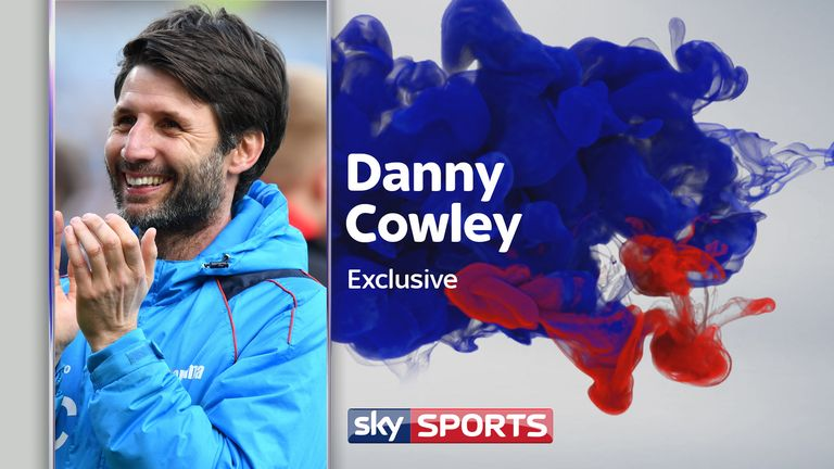Lincoln City manager Danny Cowley takes his non-league side to Arsenal in the FA Cup on Saturday