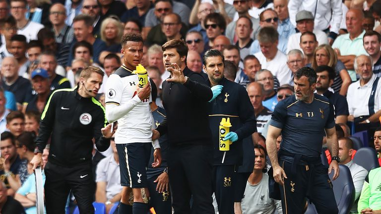 Mauricio Pochettino believes Xavi linked Dele Alli with a move to Manchester City because of the pair's history in La Liga