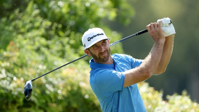 Dustin Johnson became the first player to win all four current WGC titles