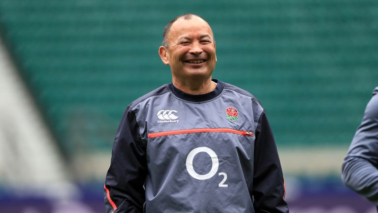 Eddie Jones' England could claim back-to-back titles with a win at Twickenham