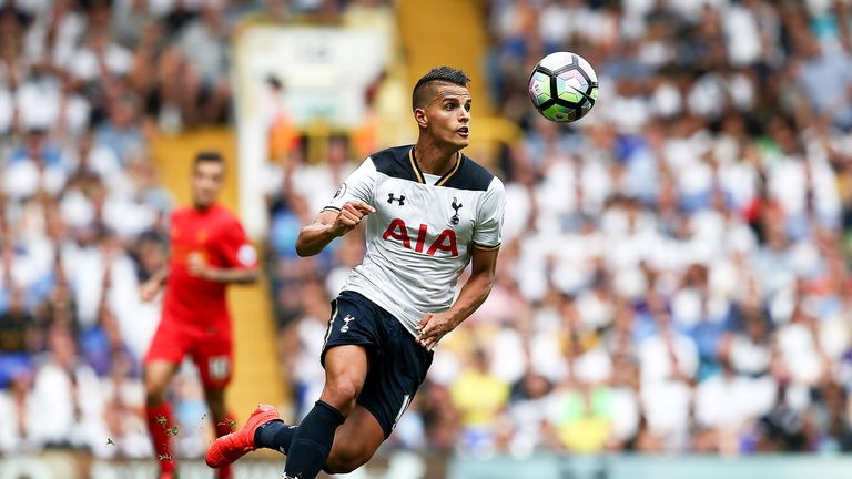 Erik Lamela has not played for Tottenham since October but is happy at the club, according to Pochettino