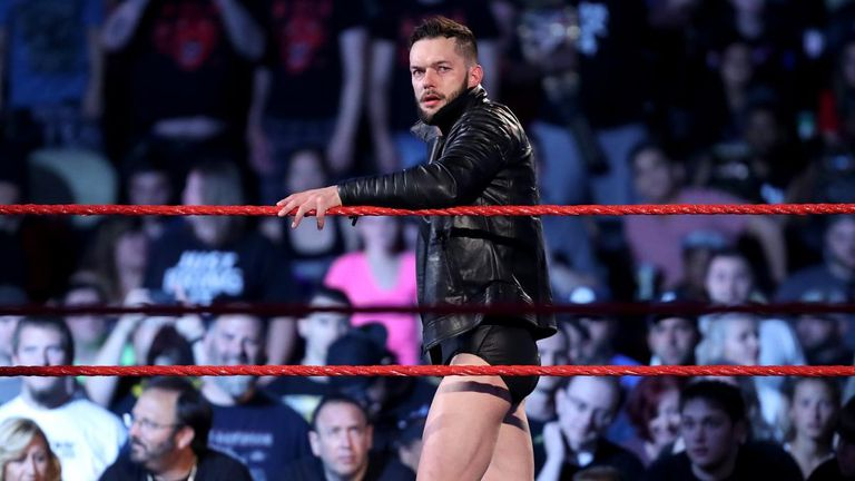 Finn Balor wrestled for the first time since August on Friday night