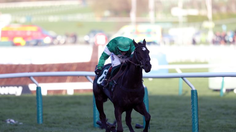 Richard Johnson will be back in the saddle at Ludlow